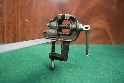 Antique Jewellers Tinny Vice 28mm Jaws Old Tool