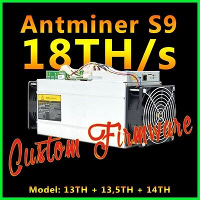 Antminer S9 Custom Firmware 18TH