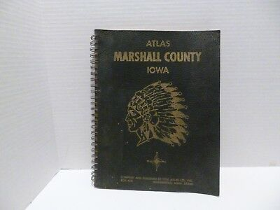 Vtg 1967 Atlas Booklett Marshall County Maps Plats Rural Dir Schools Churches