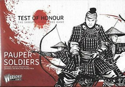 Warlord Games - Test of Honour - Pauper Soldiers NEU/OVP
