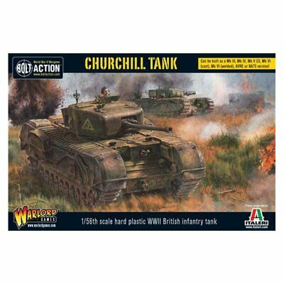 Bolt Action - Churchill Tank NEU/OVP ENG