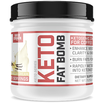 Sheer Keto Coffee Creamer with MCT Oil Powder & L Theanine | Ketogenic & Paleo