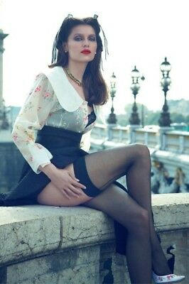 LAETITIA CASTA Stocking Foto 13 x 18 cm (5 x 7 in) glanz