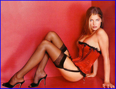 LAETITIA CASTA Stocking Foto 10 x 15 cm (4 x 6 in) glanz