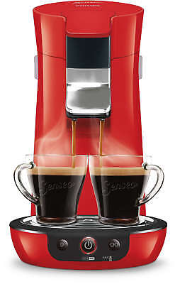 PHILIPS SENSEO Viva Café HD7829/81 Machine à café à dosettes 2 tasses rouge