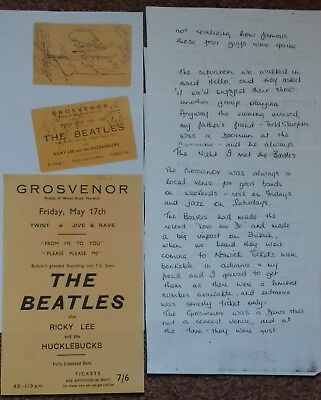 THE BEATLES Concert items May 17th 1963