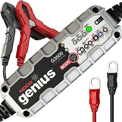 NOCO Genius G3500 3.5Amp Automatic Smart Intelligent Battery Charger 6V 12V 3.5A