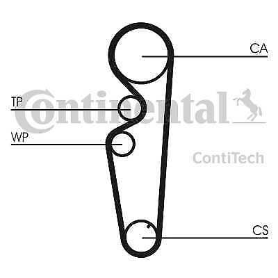 5 YEAR WARRANTY Contitech Continental Timing Belt Camshaft CT1058 GENUINE