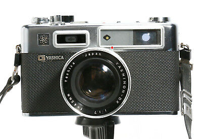 Yashica Electro 35 Rangefinder 60s Camera - Clean
