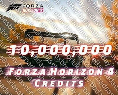 10 Million Fh4 Forza Horizon 4 Credits For Xbox One & Pc Cheapest On The Planet