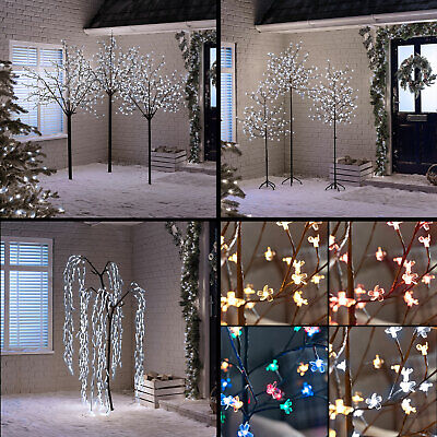 Xmas Led Cherry Blossom Tree Kyoto Willow Multifunction Outdoor Christmas Lights