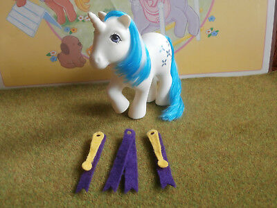 My Little Pony Majesty + some Dream Castle accessories kleines poney vintage G1