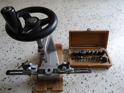 Bergeon bushing machine for alarm-mantel clock repairing parts tools watchmaker