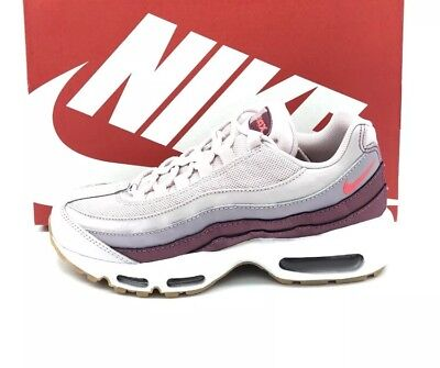 1e9a7808a2d 2018 WOMENS Nike Air Max 95 Barely Rose White Hot Punch Pink UK 6 QS ...