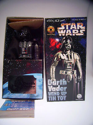 "GSR ROBOT/GSCOM ""DARTH VADER"" OSAKA TIN INSTITUT,  24cm, NEU/NEW/NEUF IN BOX !"