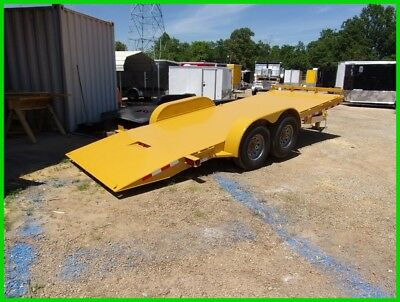 NEW 82x20 20' electric hydraulic tilt CAR hauler Hawke power up n down 15k GVWR