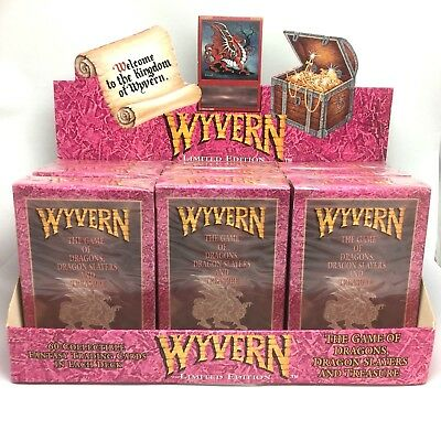 Wyvern Limited Edition Starter Deck Mint New Rare 1994 CCG MTG Magic Gathering