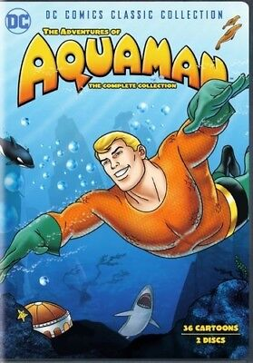 Adventures Of Aquaman: Complete Collection - 2 DISC SET (2018, DVD N (REGIONE 1)
