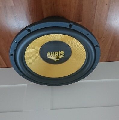 Audio system x ion 15-800 subwoofer