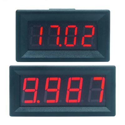 Mini Digital LED Display 4 Bits 0-100V Voltmeter Panel Volt Voltage Meter Tester