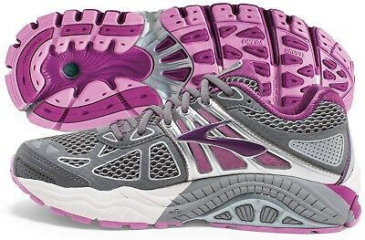 Brooks Ariel 14 Womens Running Shoe Smoked Pearl/Violet, Multiple szs New In Box