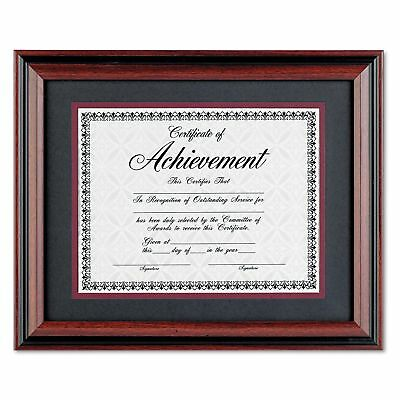 Desk Table Wall Diploma Picture Photo Frame Hardwood 11 X 14 Rosewood Black New