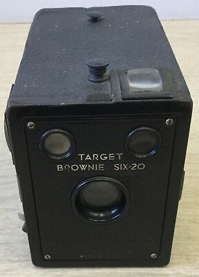 Brownie Target Six-20 Vintage Box Film Camera by Eastman Kodak