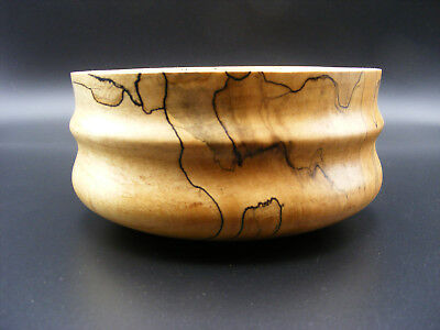 Beautiful Spalted Maple Bowl
