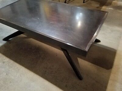 Iconic vintage Castro Convertible coffee/dining table circa 1950 Mid Century Mod