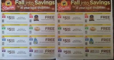 *LOT OF TWO* SHOPRITE SUPER COUPONS 10/14/18 to 11/10/18 HOT HUGE VALUE!!!!