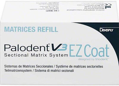 PALODENT V3 MATRIX EZ COAT REFILL 50 Units 5,5 mm. DENTSPLY.
