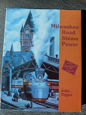 Milwaukee Road Steam Power book