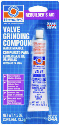 Permatex Valve Grinding Compound 1.5 Oz Tube Aids valve grinding & seating