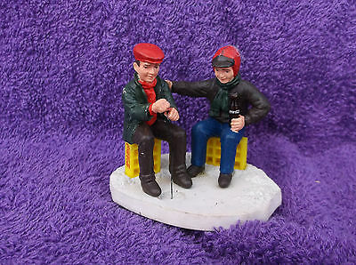 Coca Cola Town Square Collection Ice Fishing Figurine 1993