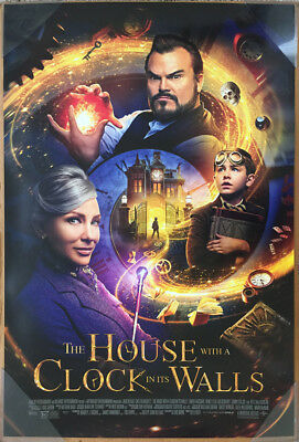 THE HOUSE WITH A CLOCK ON ITS WALLS MOVIE POSTER 2 Sided ORIGINAL FINAL 27x40