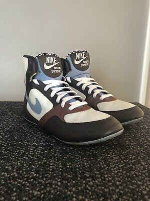 uk availability d4d4e 51a26 RARE EUC Women Nike Greco Supreme Wrestling Shoes 316552 041 US 8.5