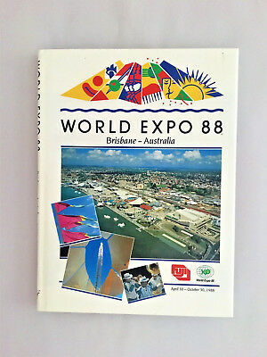WORLD EXPO 88 Brisbane-Australia (Official Licence) Glossy Hardcover-dust jacket