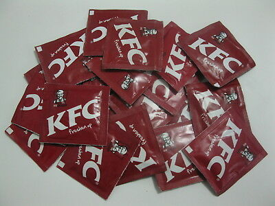 "20x KFC Refresher Towels - ""Freshen Up"" (paper face/hand washers)"