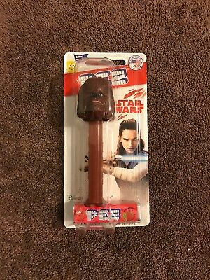 Pez Dispener Star Wars The Last Jedi - Chewbacca - MOC