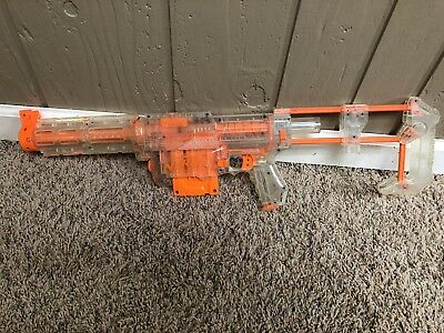 Nerf Recon Clear Version Rare sub-machine gun n-strike zombie NERF weapons lot