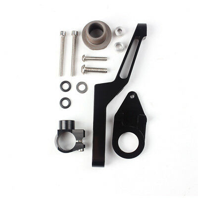 Fit Kawasaki Ninja ZX6R 09-16 13 14 Steering Damper Stabilizer Bracket Mount Kit