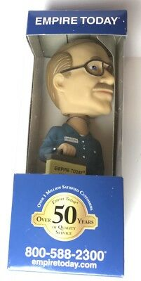 EMPIRE TODAY Advertising Promotional Bobblehead Figurine Flooring NEW In Box
