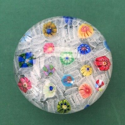 Presse Papier Sulfure Baccarat. Superbe ! ! ! Paperweight