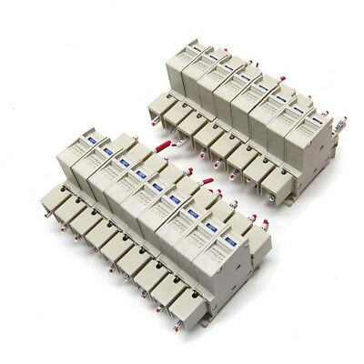 Lot of 17 Mitsubishi Electric CP30-BA Circuit Protector 1-Pole Breakers 0.5A