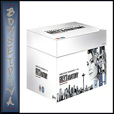 Greys Anatomy Complete Seasons 1 2 3 4 5 6 7 8 9 10 11 12 13 & 14 *brand New Dvd