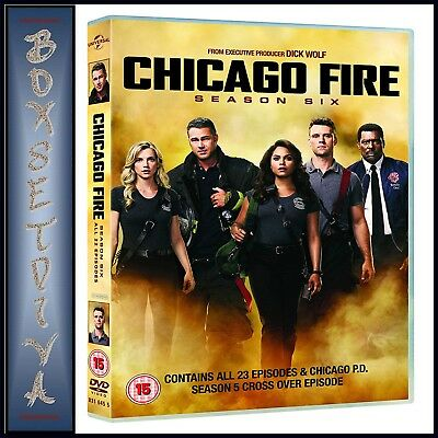 Chicago Fire Complete Season 6 - Sixth Season *brand New Dvd