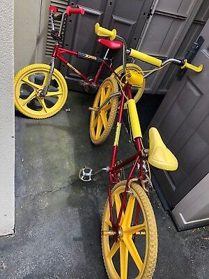 Bmx Hotfoot Original Early 1980s Plus Matching 24 Old School Vintage With Tuffs