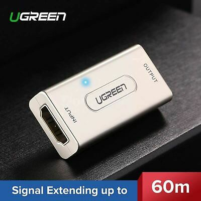 Ugreen Active Hdmi Extender Repeater Signal Booster 1080p Female Cable Adapter a