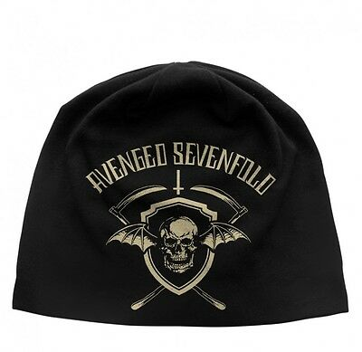 Avenged Sevenfold Shield Official jersey print beanie