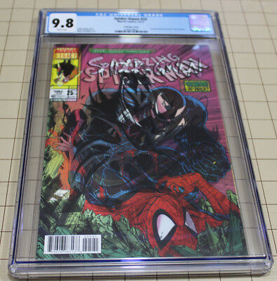 Spider-Gwen #25 Lenticular Cover Cgc 9.8 Amazing Spider-Man #316 Cover Homage